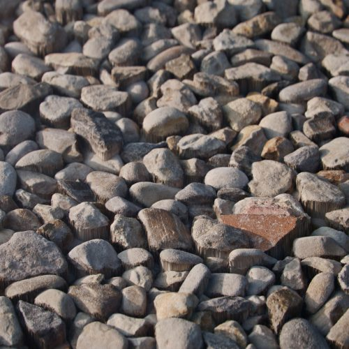 The image shows a render made using the Gravel 01 texture
