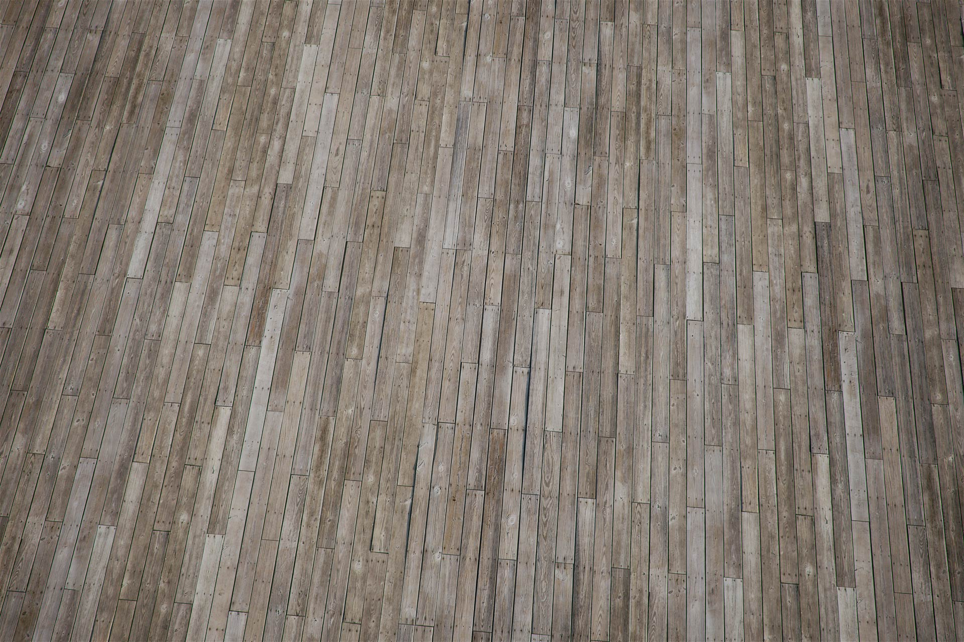 The image shows a floor made using wood plnaks texture provided by Friendly Shade