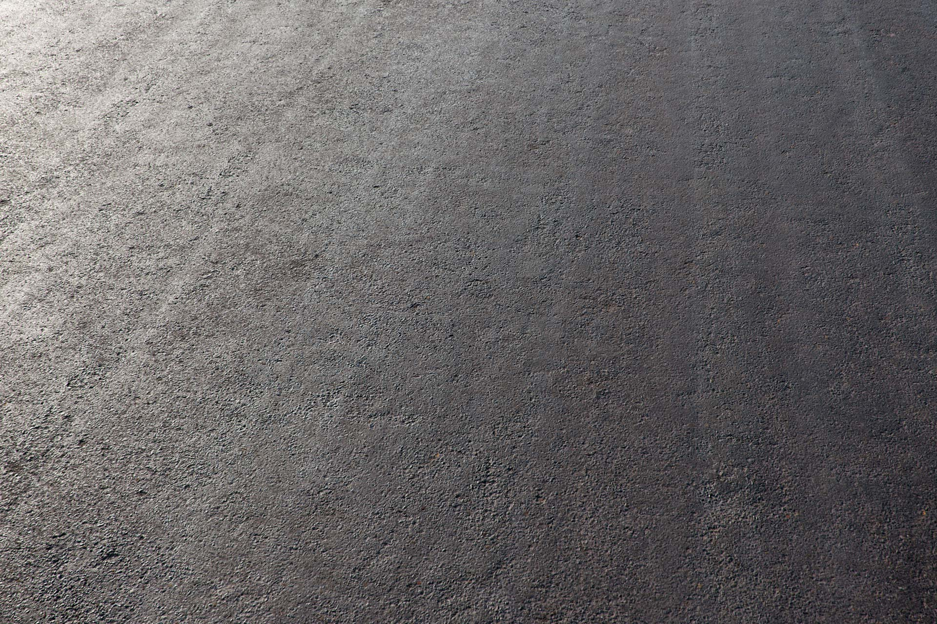 The image shows a road made using our fourth road asphalt texture
